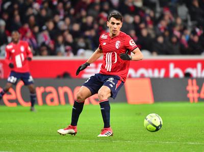 Junior Alonso anotó un tanto en contra en la igualdad del Lille ante el Guingamp