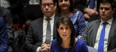 Estados Unidos amenaza con otro ataque a Siria si vuelven a usar armas químicas