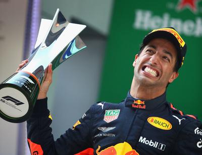 Ricciardo se quedó con el GP de China