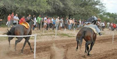Niño muere en carrera de caballos, en Guairá