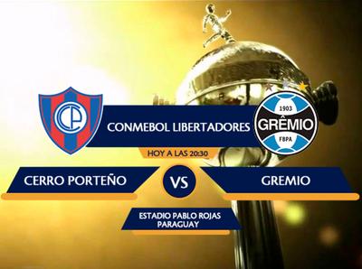 Cerro recibe a Gremio en juego de alto voltaje
