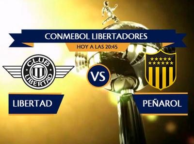 Libertad recibe a Peñarol en el Dr. Nicolás Leoz