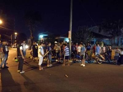 Manifestación frente a casa de conductor que atropelló y huyó
