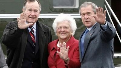Falleció Bárbara Bush, ex primera dama de EE.UU