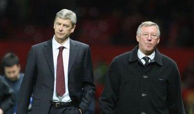 Ferguson se siente orgulloso de su amigo y rival Arsene Wenger