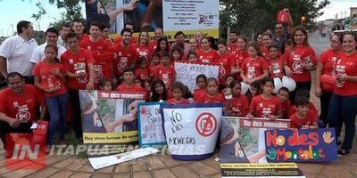 """EJECUTAN CAMPAÑA  """"NO DES MONEDAS, HAY OTRAS FORMAS DE AYUDAR"""""""