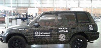 Grupo Lince utilizará vehículos incautados