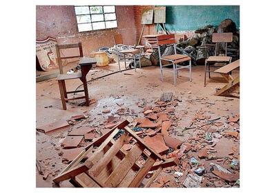 55 escuelas: Por atraso de comunas no terminan obras