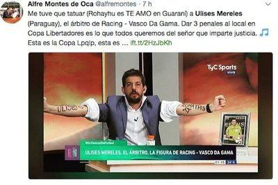 """Cobró 3 penales y es el """"ídolo"""" del Racing curepa"""