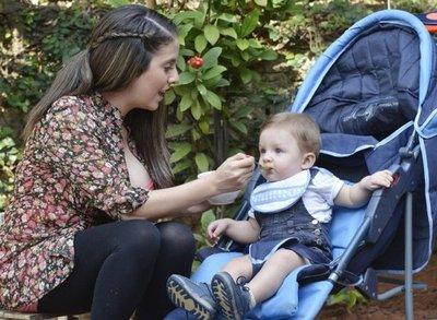 Alimentar al bebé