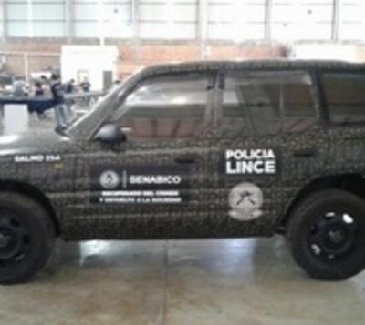 Grupo Lince patrullará en camionetas requisadas a narcotraficantes