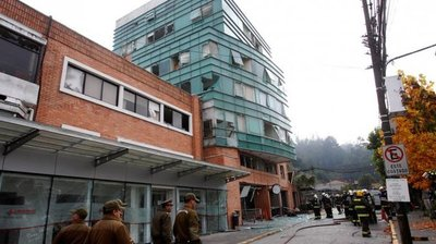 Explosión en una clínica deja tres muertos en Chile