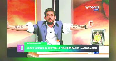 Se burlaron de Mereles en programa argentino