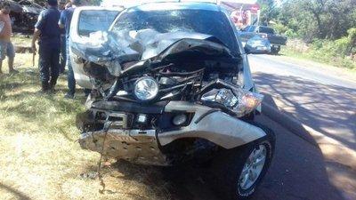 Comisario sufre accidente en San José de los Arroyos