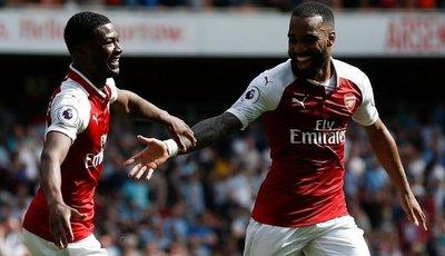 Arsenal se divierte antes de recibir al Atlético