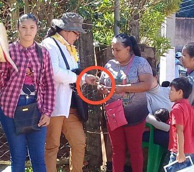Supuesta compra de cédula en Capiibary