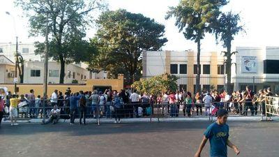 Movilización frente a Justicia Electoral