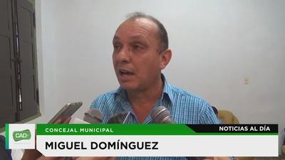 Concejal Dominguez niega acusaciones contra administración municipal