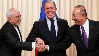 Rusia, Irán y Turquía muestran unidad para impulsar fin de la guerra en Siria