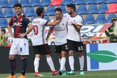 Milan, Atalanta y Sampdoria ganan