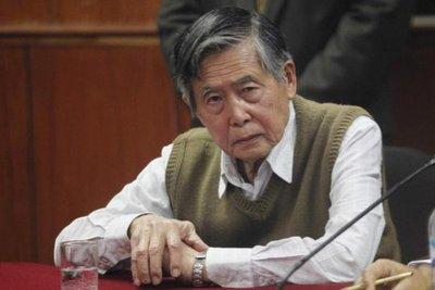 Rechazan pedido de habeas corpus del ex presidente peruano Alberto Fujimori