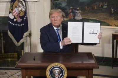 """Estados Unidos rompe su acuerdo nuclear con Irán y preocupan los """"vientos de guerra"""""""