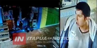 HURTAN 5 CELULARES DE UN LOCAL DEL CIRCUITO COMERCIAL DE ENCARNACIÓN.