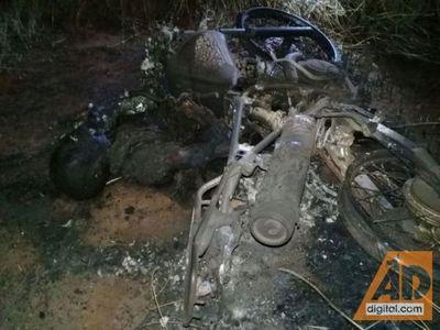 Cadáver calcinado es de un ciudadano brasileño