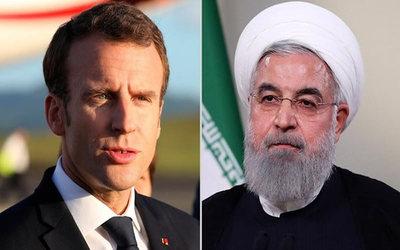 Presidentes de Francia e Irán mantendrán el acuerdo nuclear sin Estados Unidos