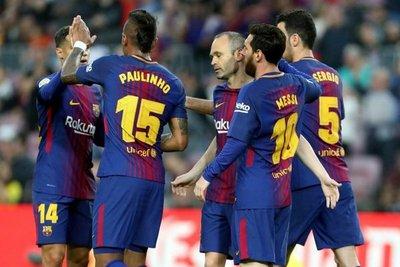 Barcelona acaricia acabar invicto