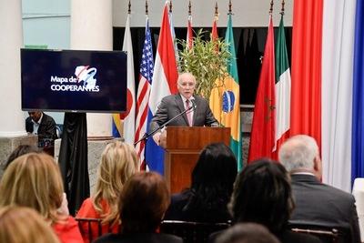 Gobierno Nacional presenta mapa sobre cooperación internacional en Paraguay