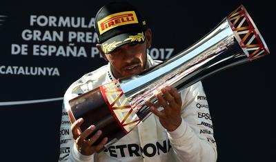Hamilton conquista Gran Premio de España