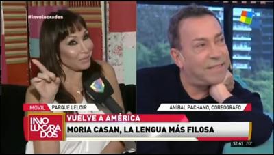 Aníbal Pachano trató de mamarracha a Carmiña Masi