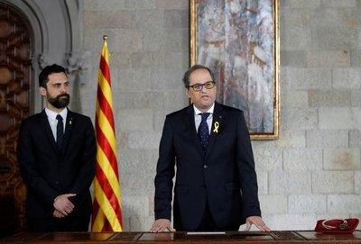 Asume nuevo presidente de Cataluña