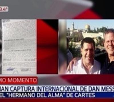 Dictan orden de captura internacional contra hijo de Darío Messer