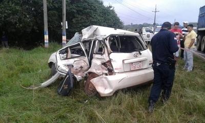 HOY / Accidente automovilístico en Itá deja tres fallecidos