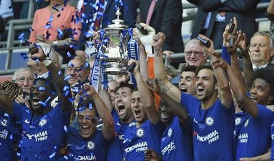 Hazard salva la temporada del Chelsea con el título de FA Cup