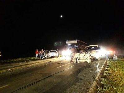 Fatal accidente en Itacurubí involucró a camioneta del grupo Despertar