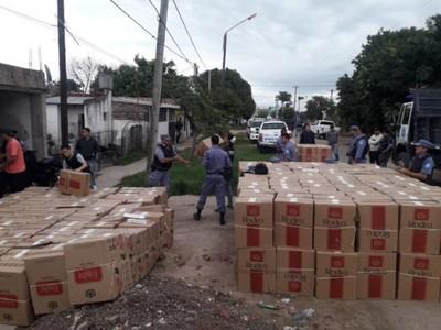 En Argentina también decomisan cigarrillos ilegales de Cartes