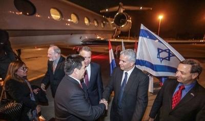 HOY / HC llega a Israel para inaugurar embajada en Jerusalén