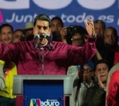 Maduro gana las elecciones y afirma que comicios fueron transparentes