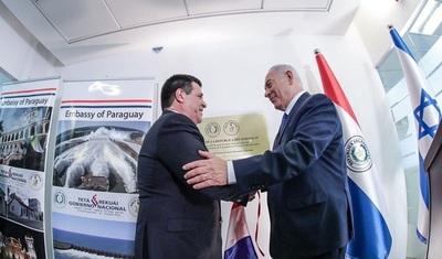 Cartes inaugura embajada en Jerusalén