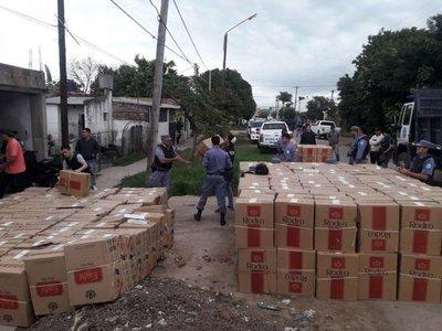 Formosa: Fueron tras un prófugo y encontraron cigarrillos de Cartes