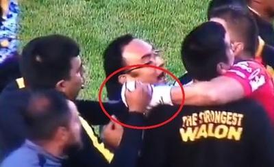 Denuncian que César Farías causó lesión a un jugador rival