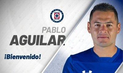 Pablo Aguilar, nuevo refuerzo del Cruz Azul