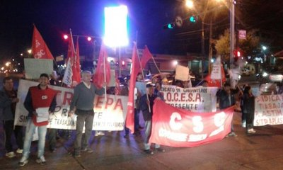 Hacen piquetes en protesta por ley de jubilación