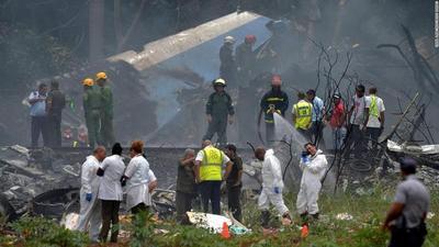 Cuba: Suman 111 los muertos en accidente aéreo