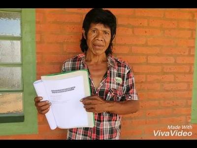 Mbya guaraní prepara su libro sobre sabiduría ancestral