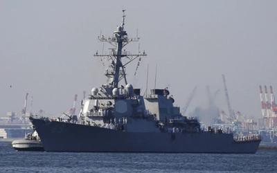 EE.UU refuerza su flota en Japón con un poderoso destructor