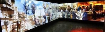 Mandatario visitó el Museo Amigos de Sión